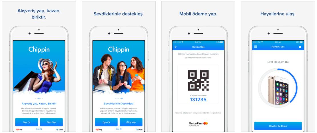 chippin-uygulama