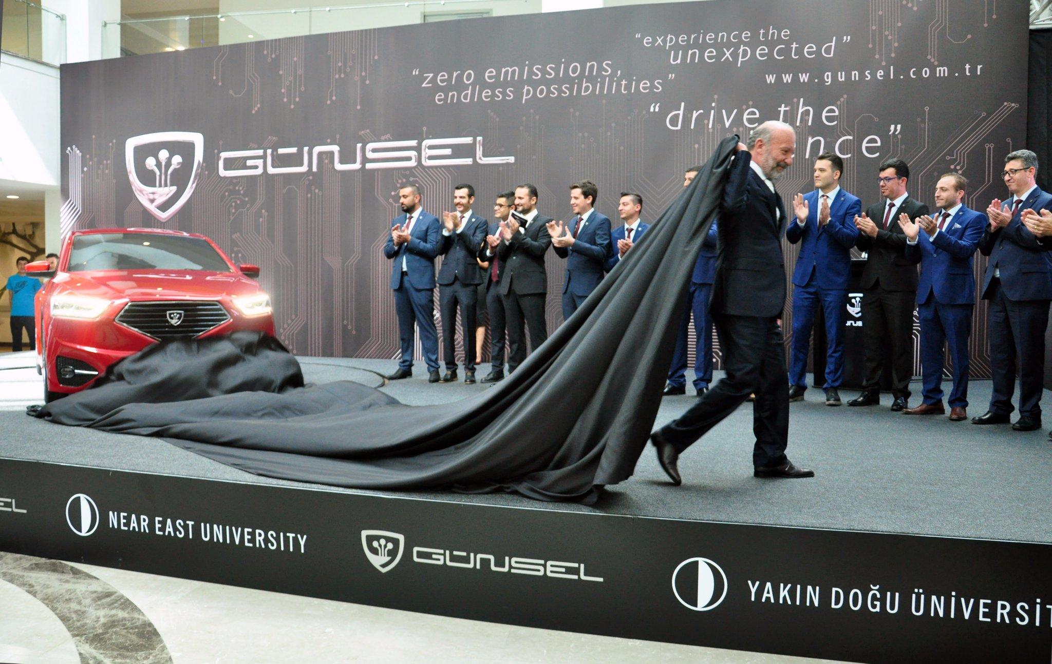 KKTC'de elektrikli bir otomobil doğuyor: Günsel
