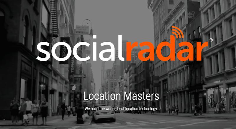 socialradar-haritalama