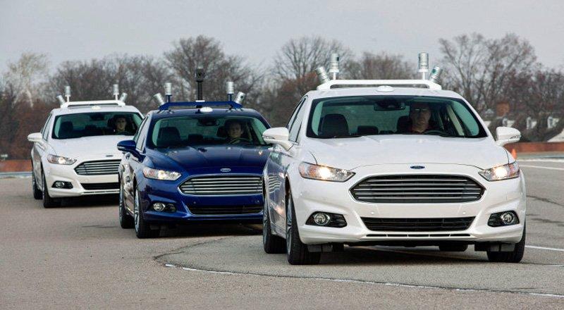 Ford surucusuz otomobil