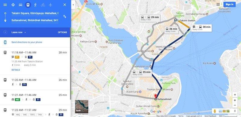google-transit-tr