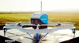 Amazon Prime Air, drone ile ilk müşteri teslimatını gerçekleştirdi