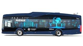 Türkiye'nin ilk elektrikli otobüsü AvenueEV tanıtıldı