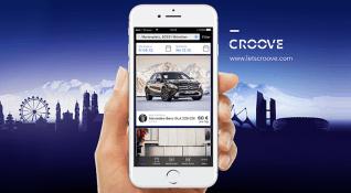Croove: Mercedes sahiplerinin araçlarını kullanmadıkları vakitleri nakte çeviren uygulama