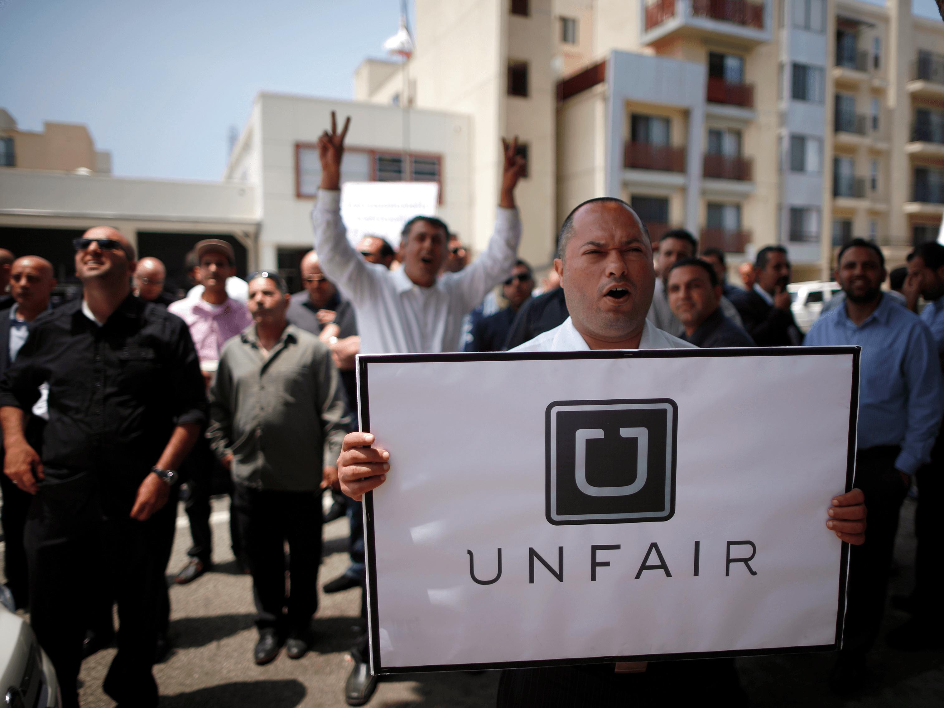 uber-protesto