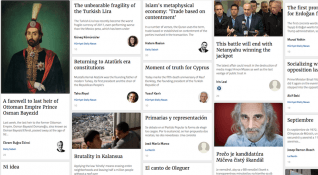 Qoshe: 400'den fazla haber kaynağını bir araya toplayan köşe yazarı platformu