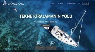 Viravira.co tekne kiralama dikeyinde ilk adres olmak istiyor
