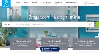 Türkiye'de ilk yılında 200 bin emlak ilanı yayınlayan Zingat, liderliğe oynuyor