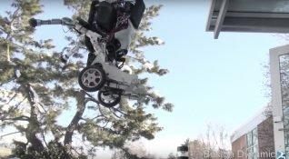Boston Dynamics 1,2 metre sıçrayabilen yeni robotu Handle'ı tanıttı!