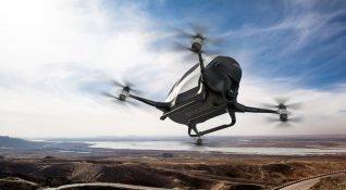 Drone taksiler, 2017 yazında Dubai'de karşımıza çıkacak