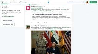 FlipFeed, başka kullanıcıların Twitter akışını okumanıza izin veren Chrome eklentisi