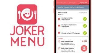 Joker Menü: Nakitten ve vakitten kazandıran yemek rezervasyonu uygulaması