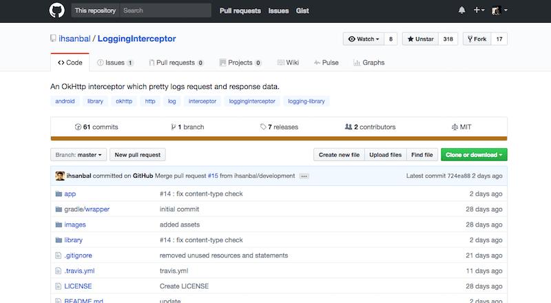 LoggingInterceptor: Android uygulamaları için log dosyası