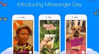 Facebook, Snapchat Hikayeler klonu Messenger Day'i tüm kullanıcılarına açtı