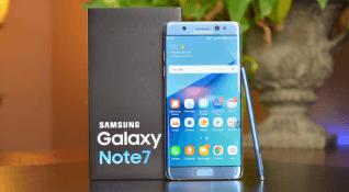 Yenilenmiş Note 7 modelleri satışa çıkıyor