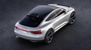 Audi'den elektrikli otomobil konsepti: E-Tron Sportback