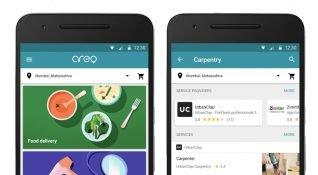 Aero: Google yemek siparişi ve hizmet çağırma dikeyine adım atıyor