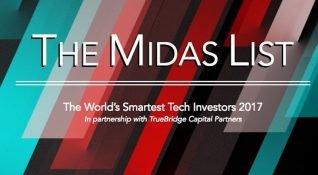 Forbes en iyi teknoloji yatırımcılarını sıraladığı Midas List'in 2017 sonuçlarını açıkladı