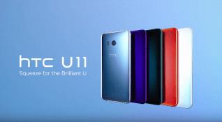 HTC'nin yeni amiral gemisi HTC U11 tanıtıldı