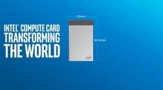 Kredi kartı boyutlarındaki Intel Compute Card, Ağustos ayında satışa çıkıyor