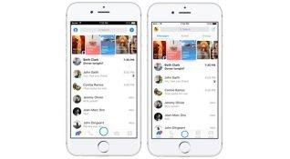 Facebook Messenger uygulamasını güncelledi