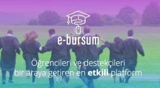 E-Bursum, burs arayan öğrencilerle burs verenleri buluşturan sosyal girişim