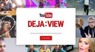 YouTube'dan dikkat çeken bir oyunlaştırma projesi: Deja:View