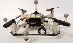 MIT, şehir içi ulaşım için hem uçan hem de karada giden drone projesi üstünde çalışıyor