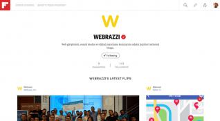 Webrazzi resmi hesabıyla Flipboard'da
