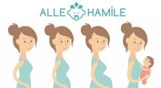 ALLE Hamile: Hamileler için işlevsel ve sosyal mobil uygulama