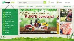 Doğal AVM: Doğal ve organik ürünlere özel pazar yeri