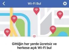 """Facebook'un ücretsiz Wi-Fi bulma özelliği """"Wi-Fi Bul"""" herkese açıldı"""