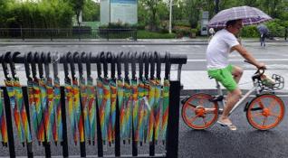 Şemsiye paylaşımı uygulaması 1 haftada 300 bin şemsiyeyi çaldırdı