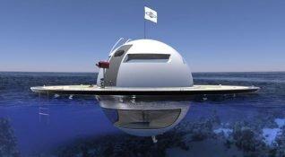 Otonom, yüzen bir UFO'da yaşamanız mümkün