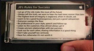Apple eski çalışanından başarı için 11 ipucu