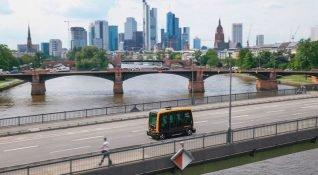 Continental, Franfurt'ta robo-taksi denemelerine başlıyor