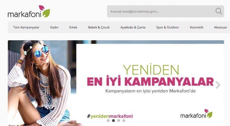 1517cb5a3cb7d Markafoni yenilenen yüzüyle alışverişe açıldı! - Webrazzi