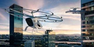Daimler uçan taksi Volocopter'e 25 milyon euro yatırım yaptı
