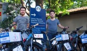 Bizero.bike: İstanbul için elektrikli bisiklet kiralama girişimi