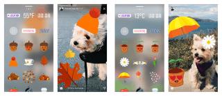 Instagram mevsimlere özel stickerlarıyla karşımızda!
