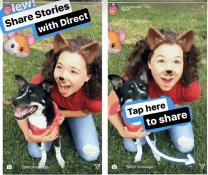Hikayeler Instagram Direct üzerinden de paylaşıma açıldı