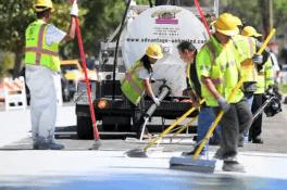 Los Angeles'tan küresel ısınmaya karşı yeni çözüm: Caddeleri boyama