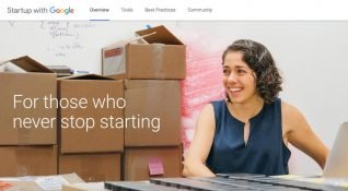 Startup with Google: Girişimciler için Google araç ve hizmetleri bir arada