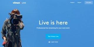 Livestream'i satın alınan Vimeo canlı yayına başladı