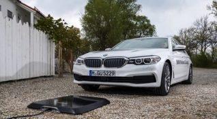 BMW elektrikli otomobilleri için kablosuz şarj ünitesini tanıttı