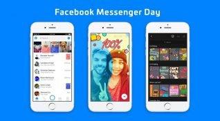 Facebook Messenger Day, 70 milyon günlük kullanıcıya ulaştı