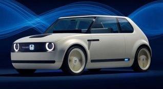 Honda'dan retro görünümlü elektrikli araç: Urban EV
