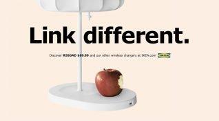 Ikea kendi kablosuz şarj cihazlarını hatırlatmak için iPhone 8 lansmanını kullandı