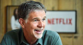 Ofisi olmayan Netflix CEO'su Hashtings, işlerini cep telefonundan yürütüyor