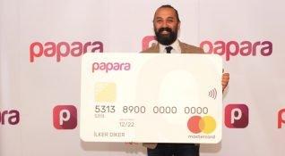 İşlem hacmi 750 milyon TL'yi geçen Papara, ön ödemeli Papara Card'ı tanıttı